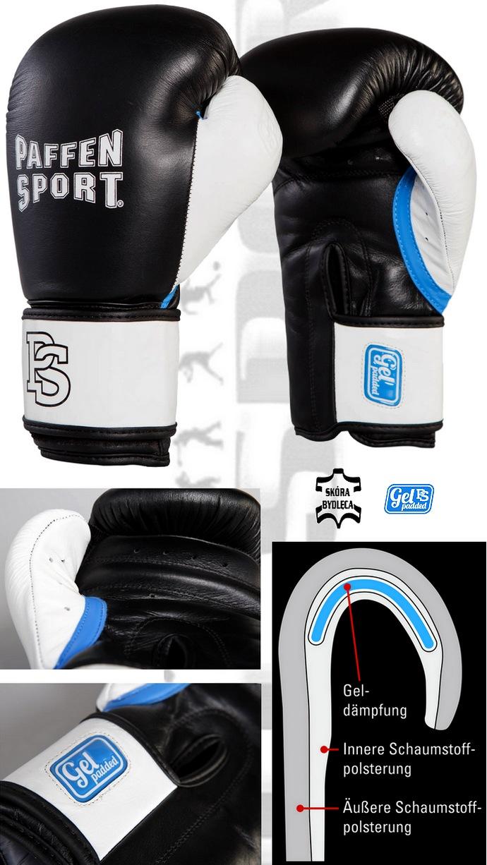 Rękawice bokserskie Paffen Sport GEL, Boxing Gloves Paffen Sport GEL