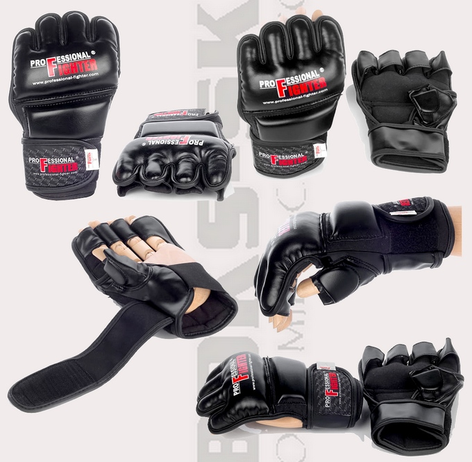 Rękawice MMA Professional Fighter KS1 03137, MMA gloves KS1