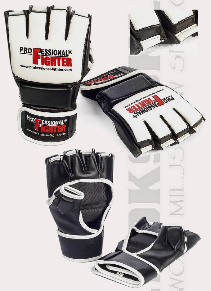 03177 Rękawice do MMA Professional Fighter F2 z PU