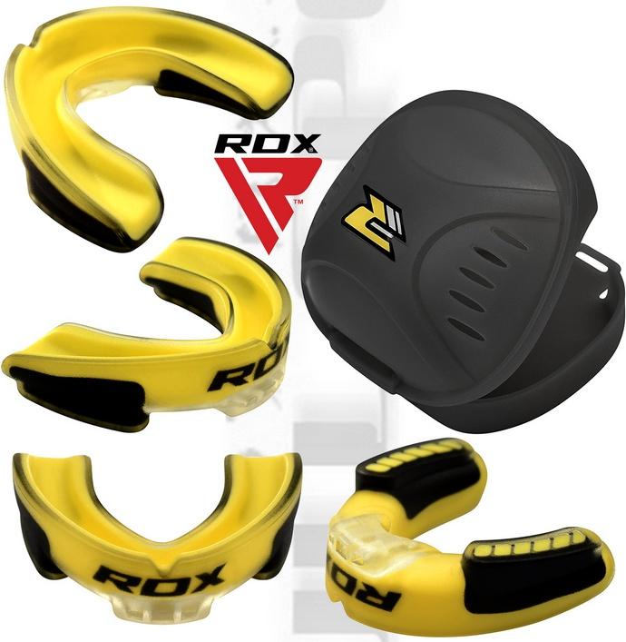Ochraniacz na zęby RDX żółty
