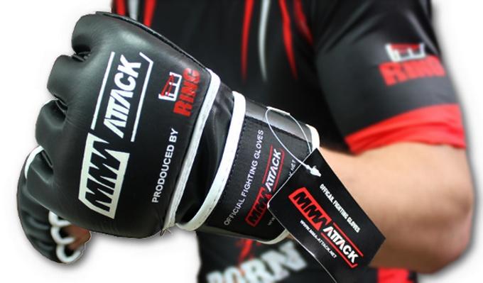 MMA ATTACK rękawice do walki mma