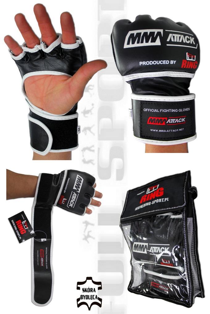 Ocifjalne rękawice MMA - Gali MMA ATTACK