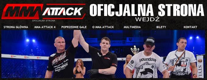 Wejdź na oficjalną stronę MMA ATTACK