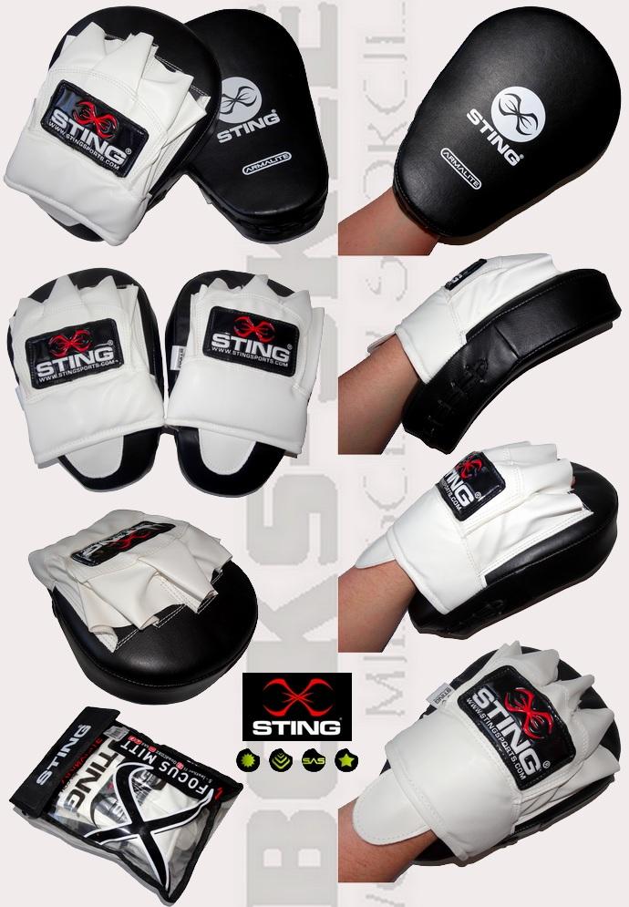 Łapy bokserskie profilowane STING ARMALITE SAS, Ficus Mitt Sting Armalite SAS SAFM-0308