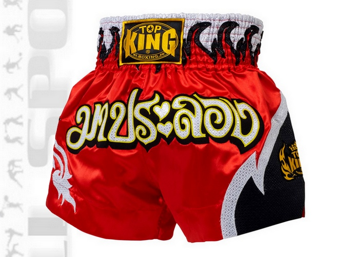Spodenki krótkie do Muay-Thai Top King TKTBS-092