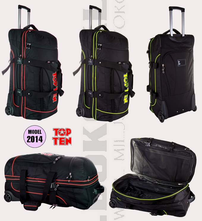 Torba sportowa Top Ten Travel DeLuxe Jumbo desing 2014