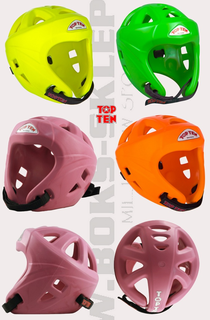 Kask ochronny ITF Top Ten Avangarde Neon
