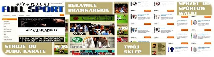 Pełna oferta stroi do judo, karate, jiu-jitsu i innych sportów